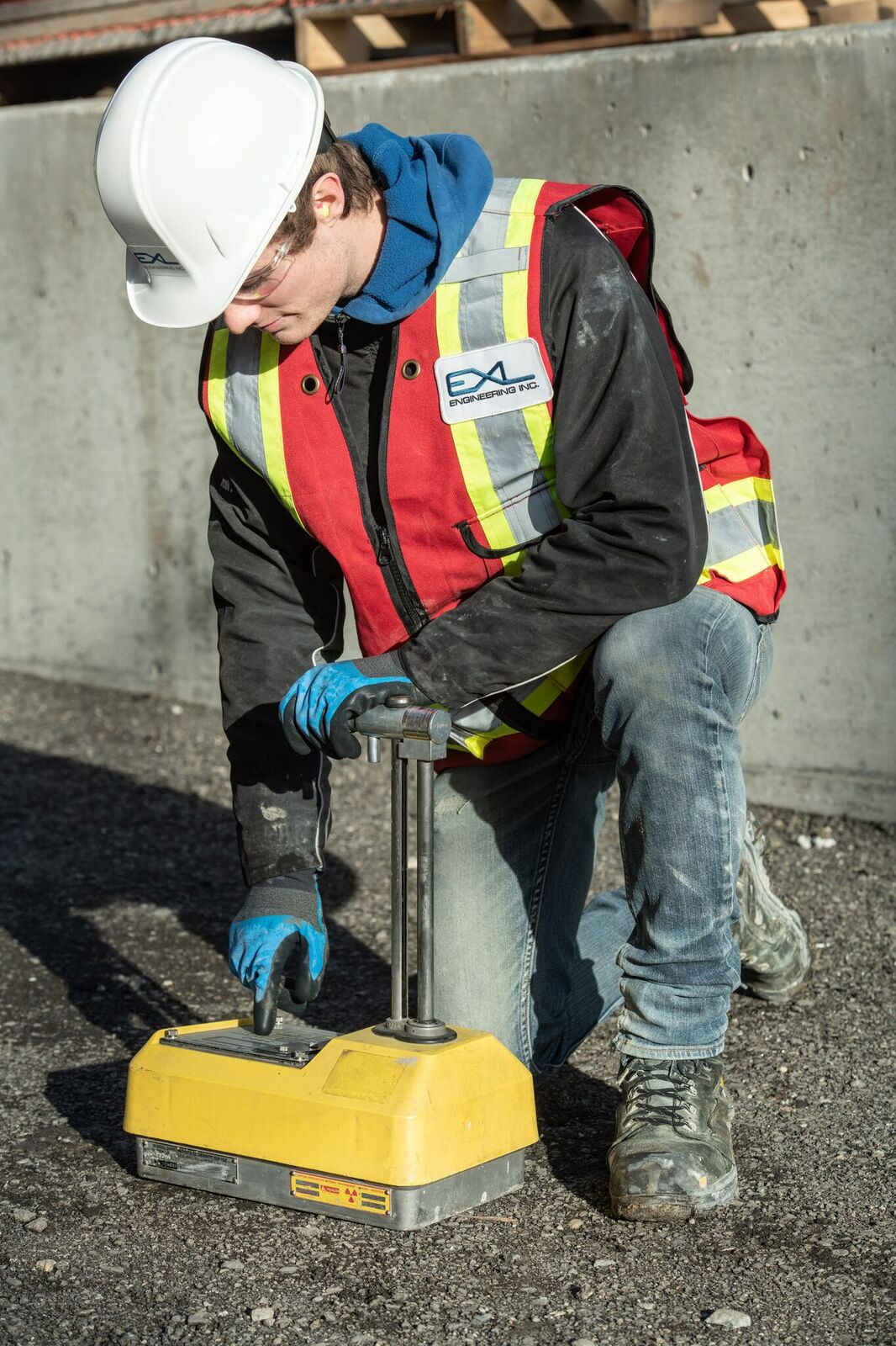 Soils testing for construction projects