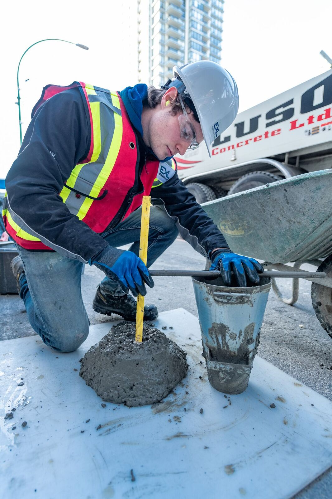 Concrete Testing |Materials Testing Labs in BC | EXL Engineering
